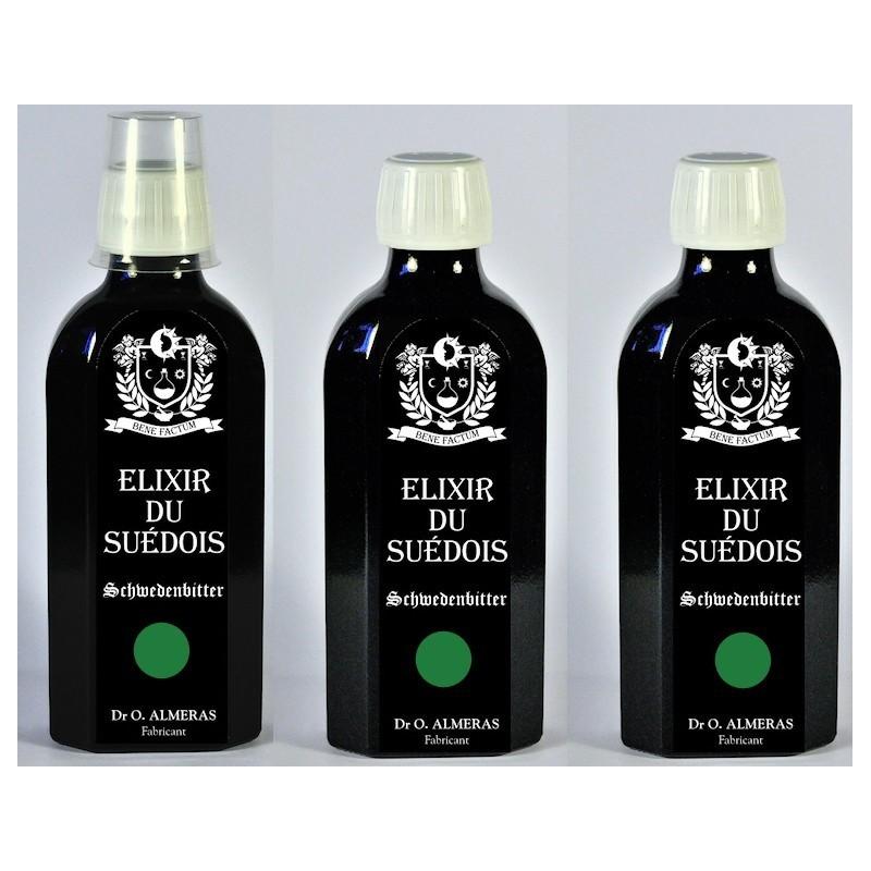 """3 Elixirs du Suédois """"Très Longue Macération"""""""