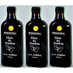 3 Elixirs du Suédois sans camphre