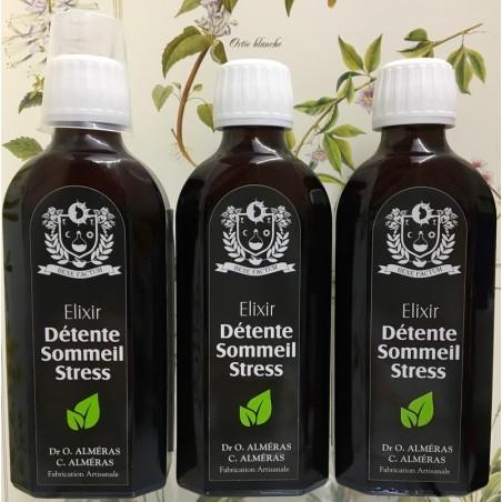 Lot de 3 Elixirs Détente Sommeil Stress